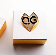Запонки Qg customized QGHAPPY