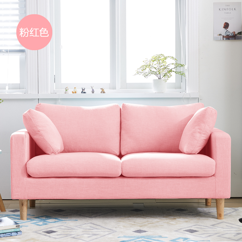 Attractive Two Sofa Living Room Design Picture Collection - Living ...