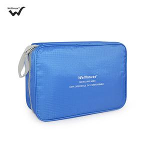 便携化妆包大容量手拿收纳袋韩国简约旅行随身洗漱品手提防泼水