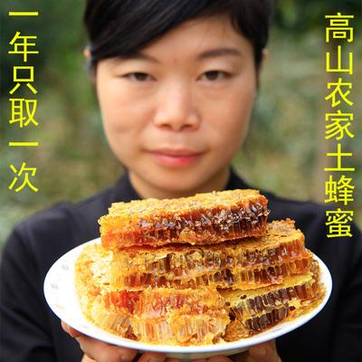 蜜蜂堂 纯正土蜂蜜秦岭深山农家野生无添加木桶老巢蜜结晶野蜂蜜汉中特产