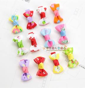 Children's hairpin hair accessories baby hairpin small girl hairpin girl bow flower bangs clip headdress