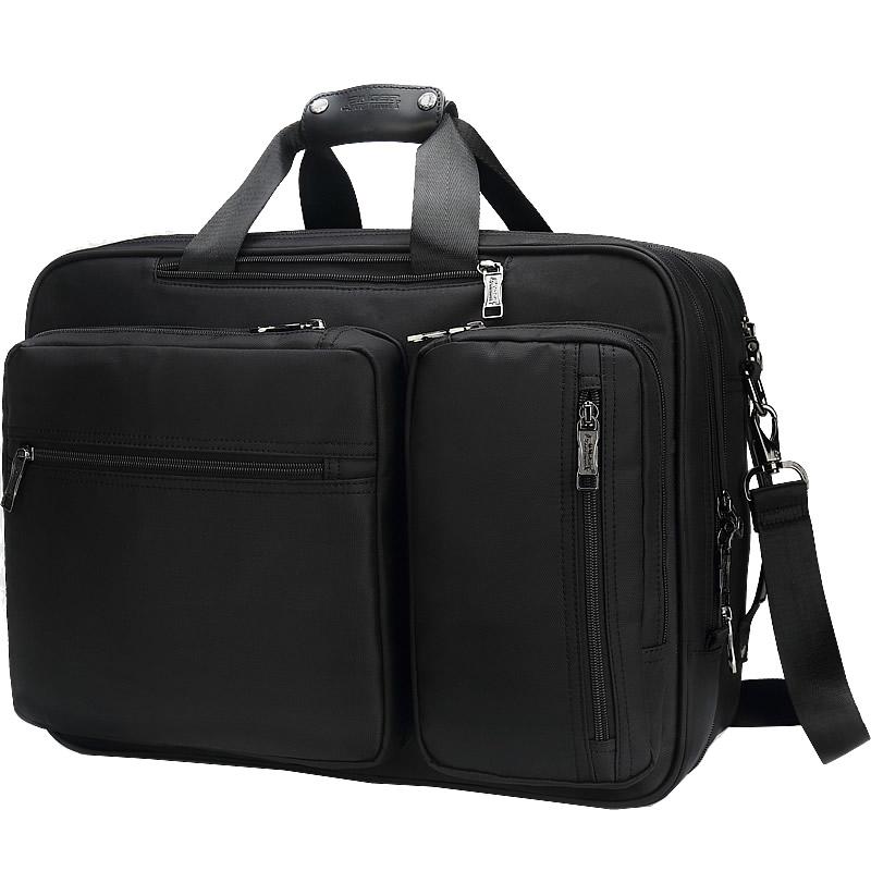 手提包男商务休闲单肩包大容量出差旅行背包两用包多功能公文包男