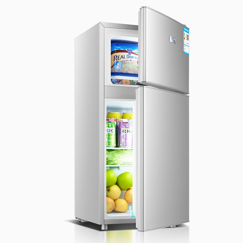 夏新BCD-102小冰箱小型家用宿舍双门式压缩机制冷藏冷冻电冰箱