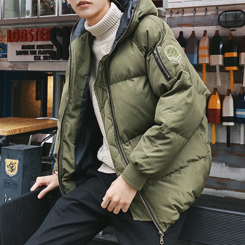 Школьник пальто корейская волна струиться хлопок утолщённый даже крышка облегающий, южнокорейская версия зима красивый краткое модель дикий подбитый молодежь