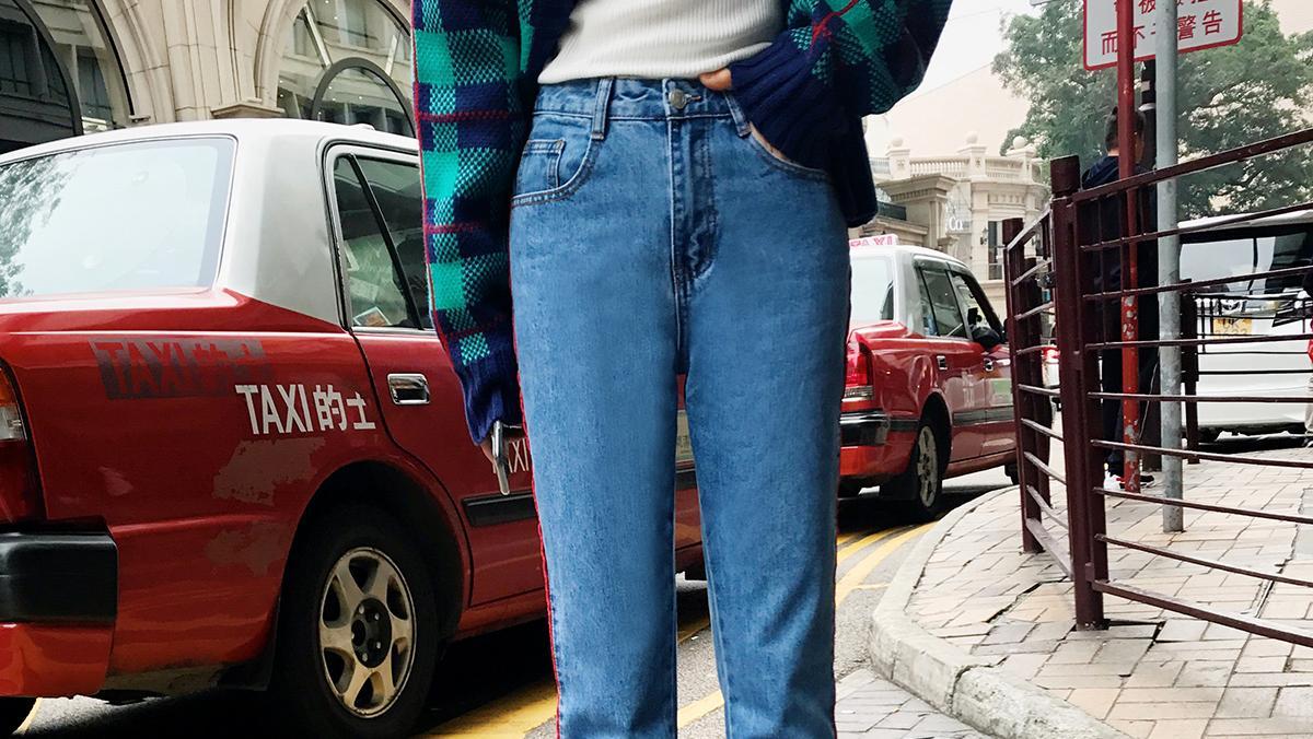 小脚牛仔裤,拥有别人羡慕的大长腿