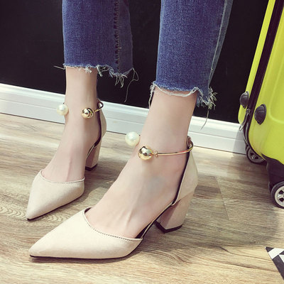 Women High Heels Working Office Shoes Party Formal Shoes 636566