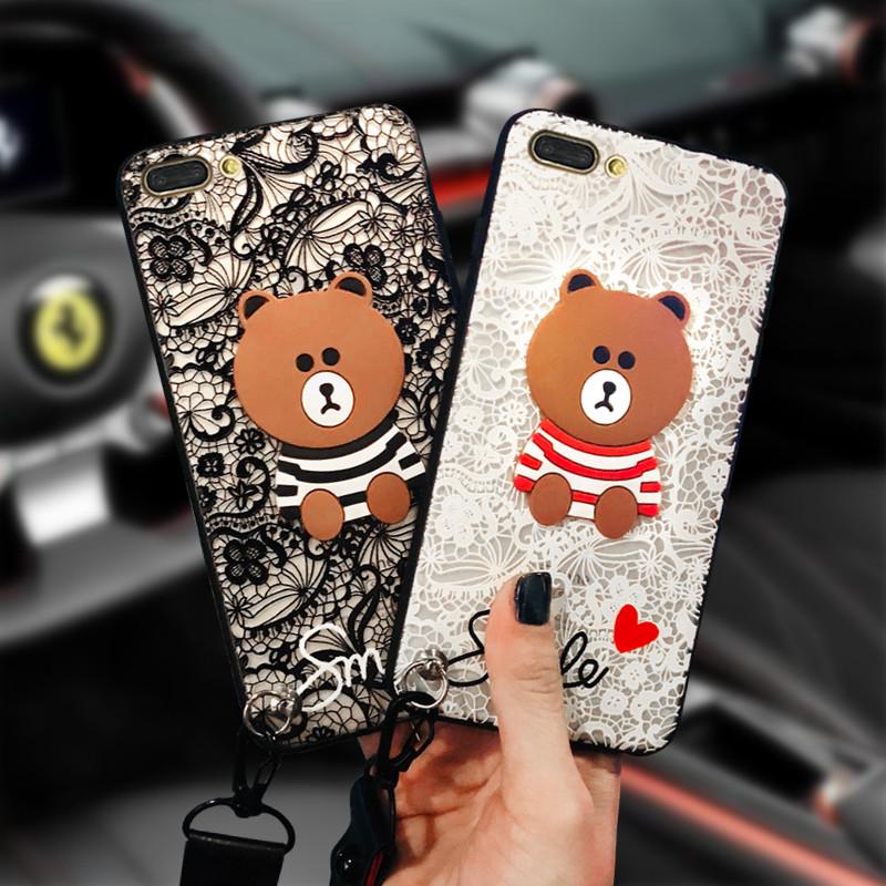 卡通小熊oppor11手机壳全包