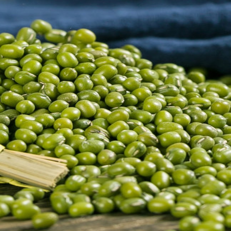 s买4送1新鲜农家绿豆粮油颗粒饱满肉多皮薄绿豆粥绿豆汤可发芽500