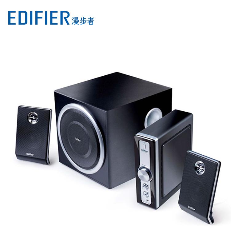 Edifier-漫步者 C1 木质2.1 多媒体有源电脑音箱 功放低音炮音响