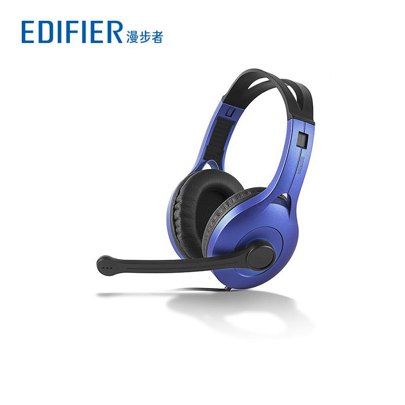 Edifier-漫步者 K800台式电脑游戏耳机带麦克风头戴式耳麦带话筒