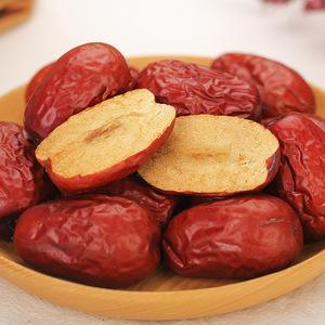 【天猫正品】一个故事新疆若羌俊枣灰枣和田红枣干红枣子400g*1袋