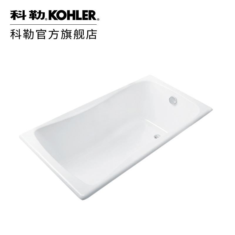 科勒 百利事1.5米嵌入式铸铁浴缸家用浴缸成人浴缸17270