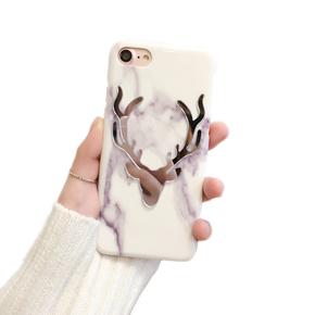 韩国麋鹿大理石纹iPhone6/7手机套