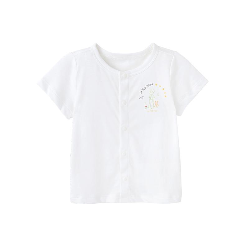 英氏小王子的陪伴男女宝宝内衣儿童单件上衣164063