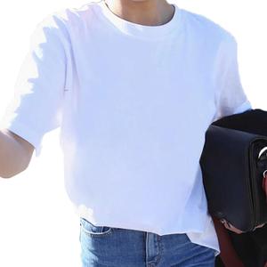 2019新款韩版宽松bf风百搭简约少女半袖ins同款短袖T恤女上衣学生
