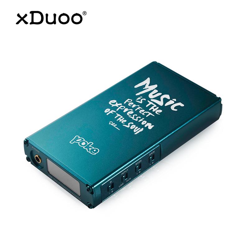 乂度-xduoo poke 便携式hifi解码耳放一体机耳机放大器解码器 苹果安卓手机耳放发烧平衡数字耳机功放高保真