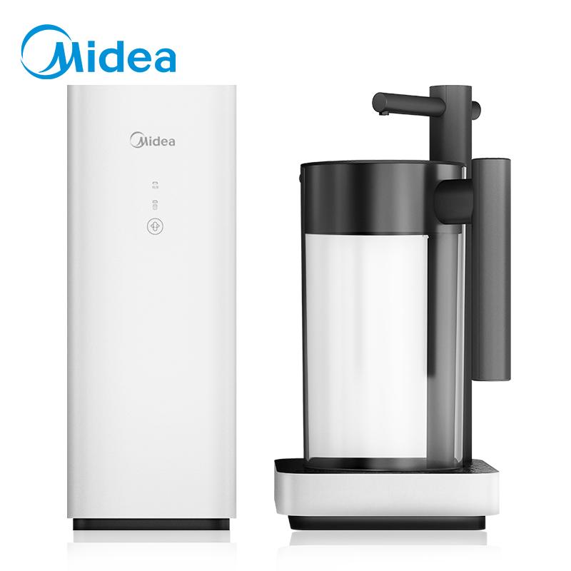 美的净水器家用直饮自来水过滤器厨房反渗透ro膜台式禅意纯水机