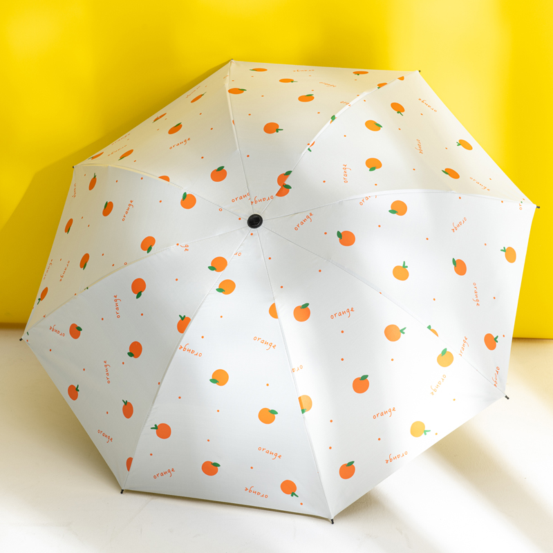 小清新太阳伞女防晒防紫外线雨伞学生少女ins折叠遮阳伞晴雨两用