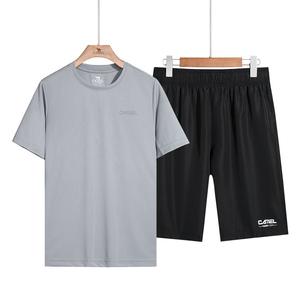 【骆驼】休闲运动速干衣两件套