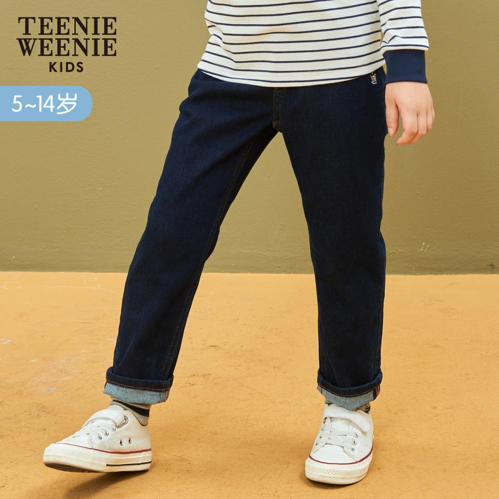 TeenieWeenie Kids小熊童装男童裤子春秋装男中大童牛仔裤子洋气