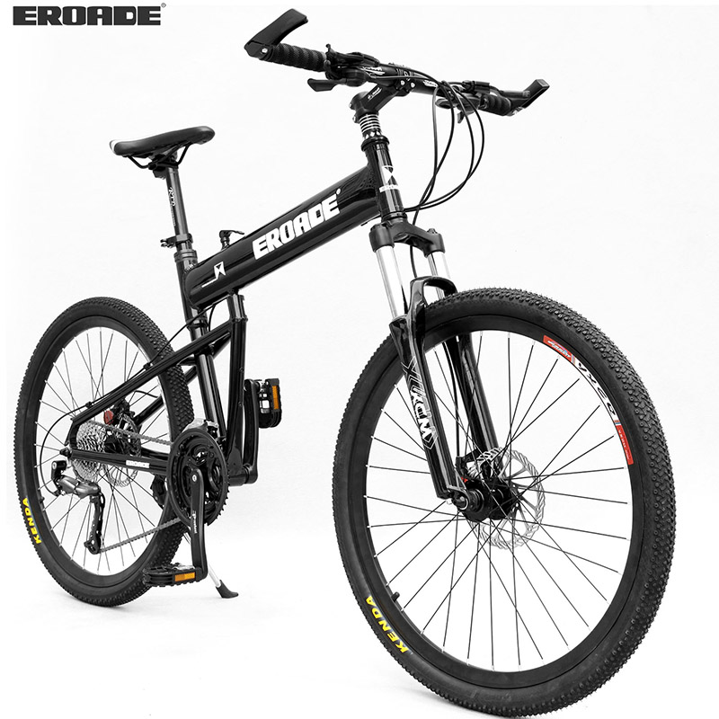 德国EROADE29寸折叠山地车30变速自行车成人越野铝合金减震单车男