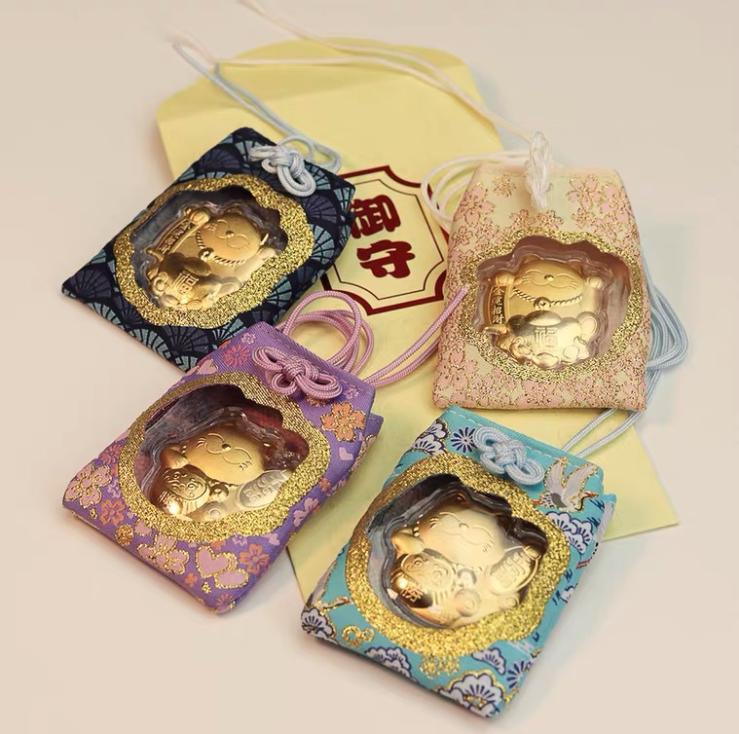 日本限定招财猫御守 心愿成就 新年礼物 大开运护身符 J