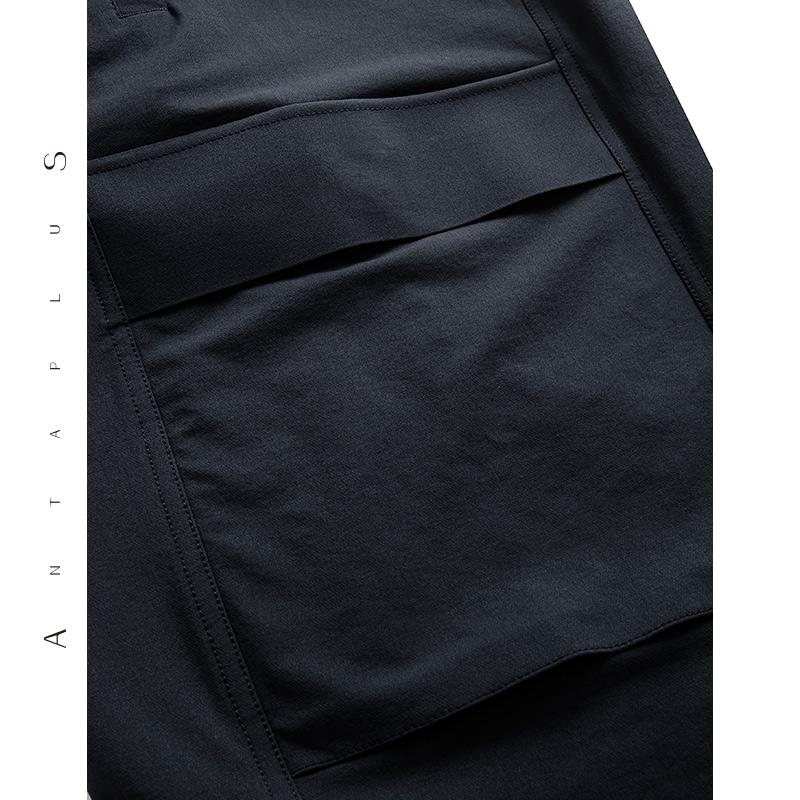 安踏时尚品牌antaplus官方旗舰店男子休闲长裤男裤子2019春季新款