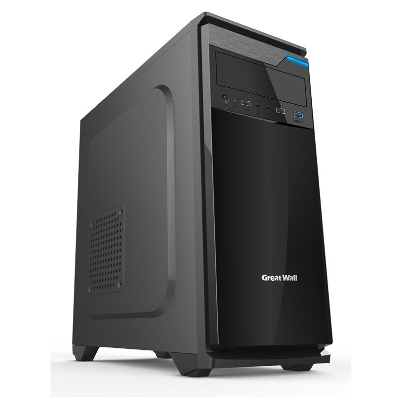 长城 商机R30电脑机箱 ATX大板主机箱 USB3.0台式机箱加厚 静音