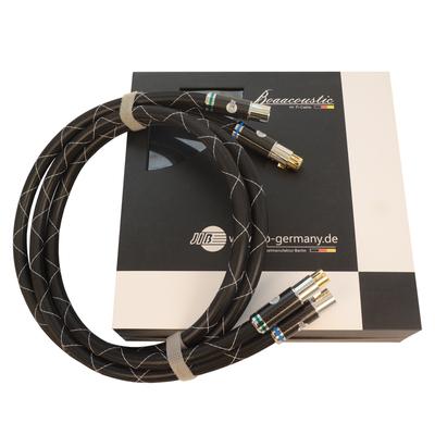 蟒蛇JIB HF-008 XLR卡侬公对母平衡线音频线CD转盘前后级功放胆机