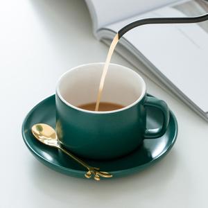 咖啡杯陶瓷北欧ins风小容量陶瓷 简约家用下午茶具咖啡器具配杯架