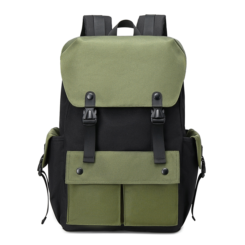 2020年新款双肩包男时尚潮流大容量女多功能商务轻便旅行电脑背包