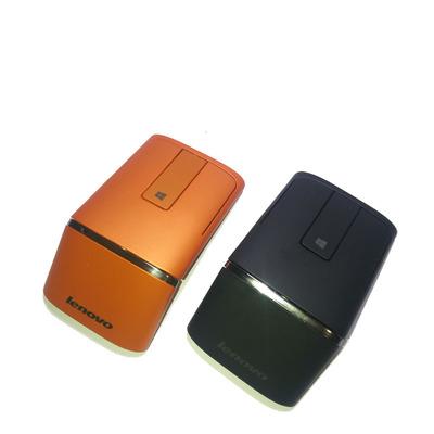 联想笔记本电脑 蓝牙鼠标 win8平板轻薄无线激光双模触控鼠标N700 PPT翻页教学商务便携省电男女情侣小巧鼠标