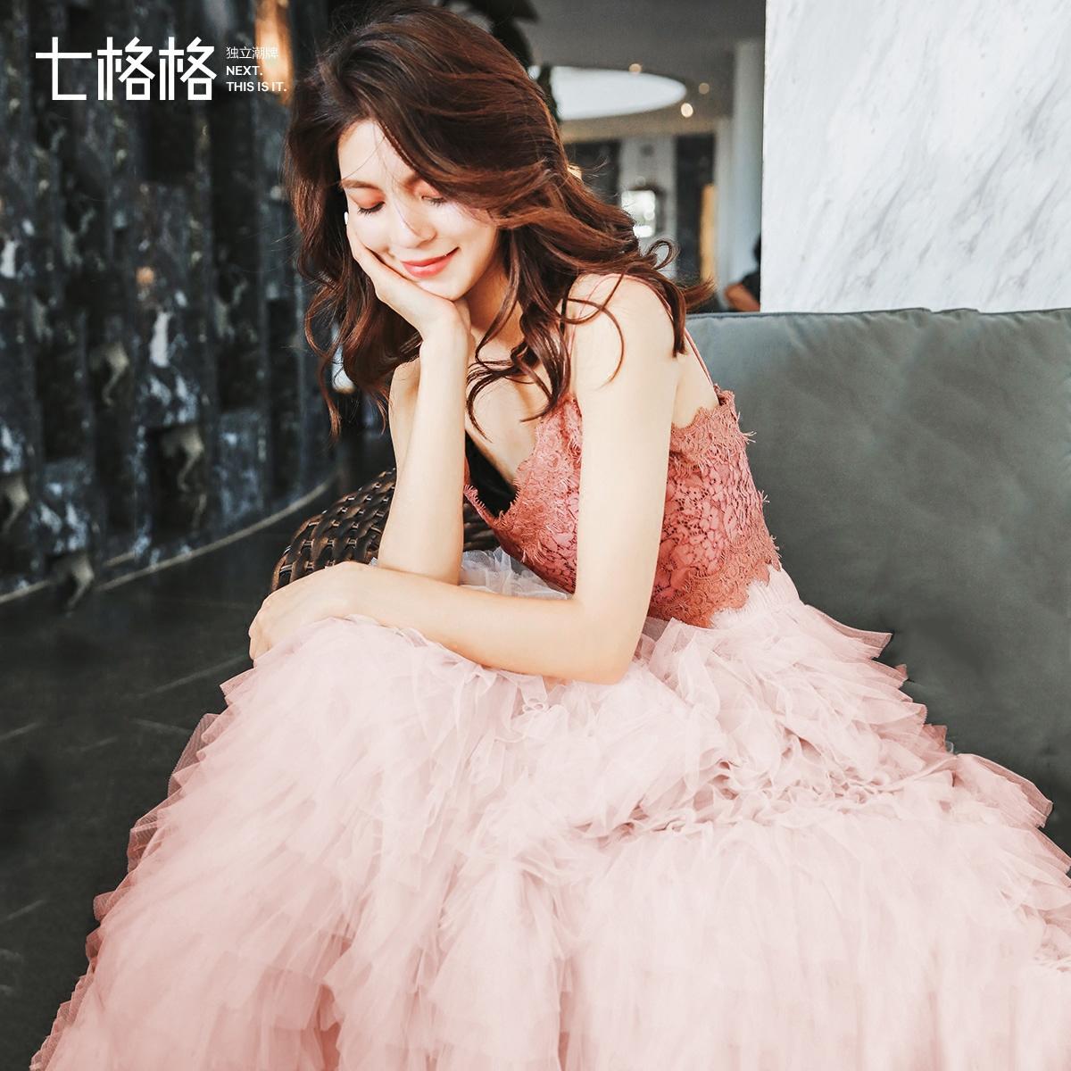 俏皮港风夏季2018新款女时髦套装春装休闲时尚bf温柔风两件套裙潮