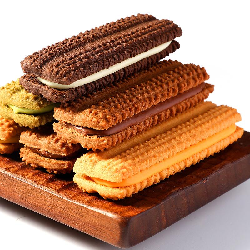 【第2件半价第3件0元】法丽兹95g网红休闲零食充饥小吃曲奇饼干