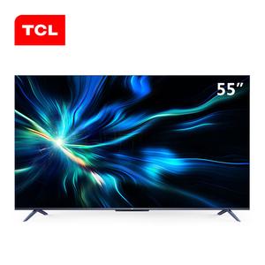 TCL 55V8M 55英寸4K高清语音遥控AI全面屏超薄平...