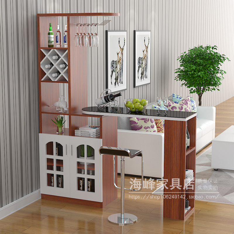 Home Bar Table Wine Cabinet Living Room Partition Cabinet European Rotating  Porch Hall Cabinet Simple Modern Small Bar Wine Cabinet