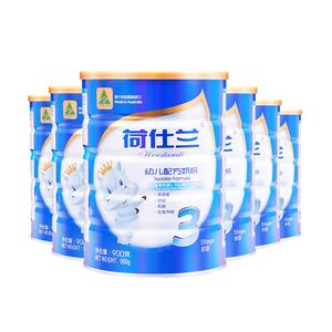 荷仕兰(Hoeslandt)幼儿LTF奶粉3段12-36个月900g*六罐