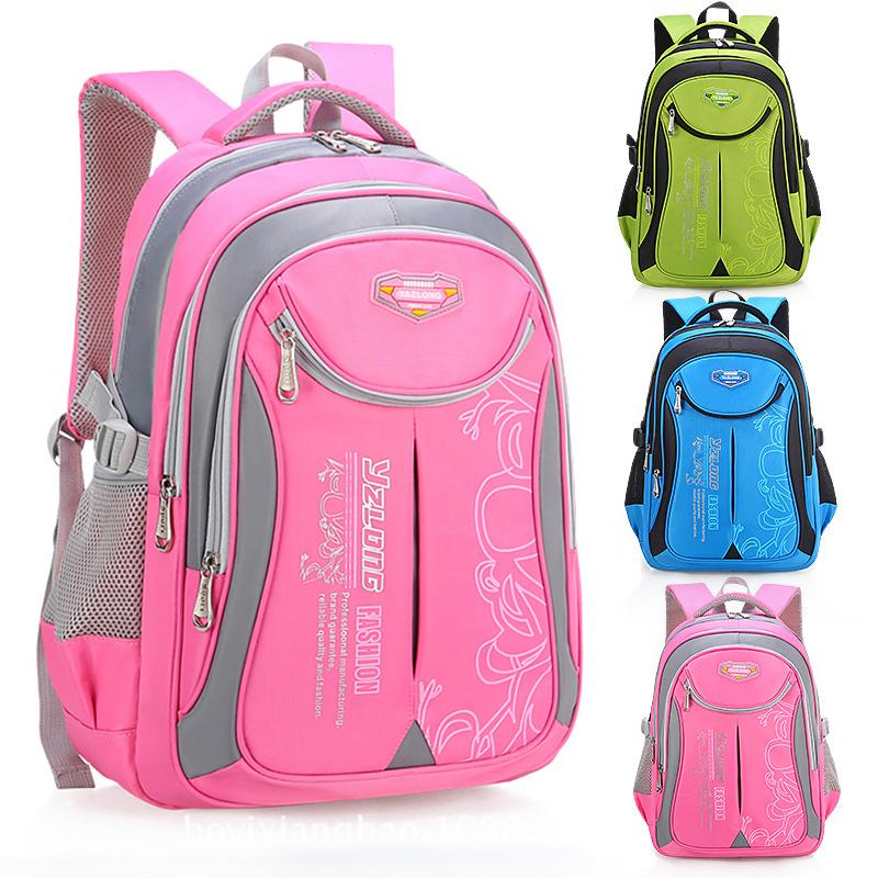 小学生书包男女1-3-6年级轻便耐磨双肩背包减负男女孩儿童书包