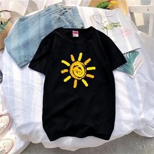 男士短袖T恤潮牌潮流个性原宿港风半袖ins超火的上衣韩版体恤衣服