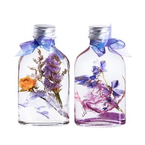 流金玫瑰浮游花植物标本永生花生日礼物创意摆件