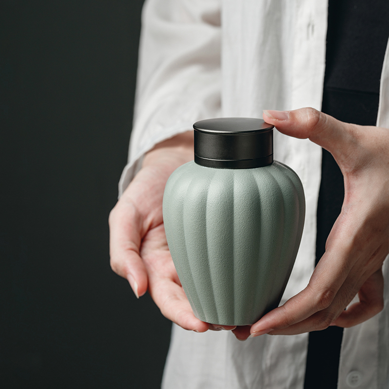 "The Self - ""appropriate content caddy fixings Japanese POTS sealed jar store receives contracted modern ceramic pot storage tanks"