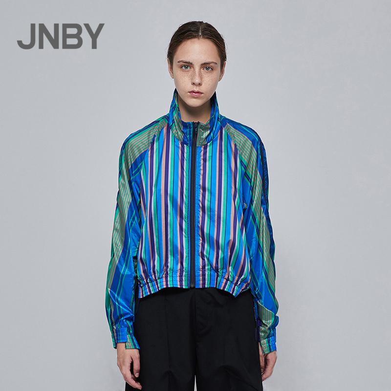 JNBY-江南布衣2018夏新插肩袖个性短外套女5I2202110