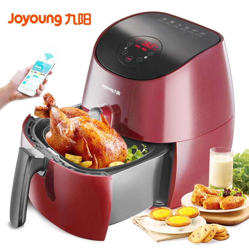 九阳空气炸锅KL32-I7大容量多功能家用阿里智能电炸锅无油薯条机