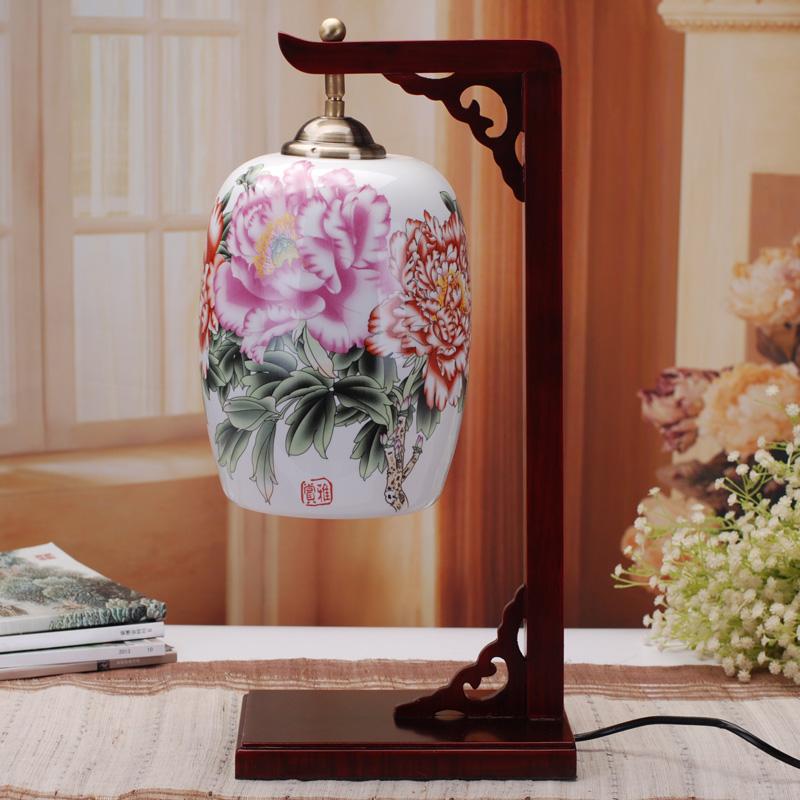 景勤中式创意陶瓷台灯111002