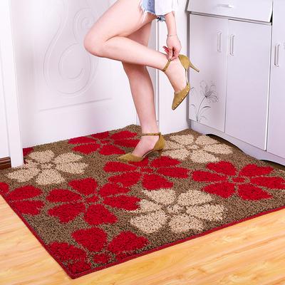 喜呱呱 简约现代加厚地毯 40*60cm