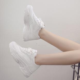 女ins2018新款棉运动冬季韩版ulzzang原宿百搭学生鞋子老爹鞋加绒