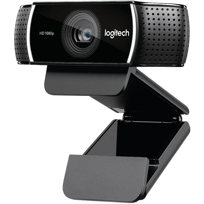 罗技C922Pro网络摄像头斗鱼YY淘宝高清直播主播美颜瘦身1080P包调试视频台式电脑C920