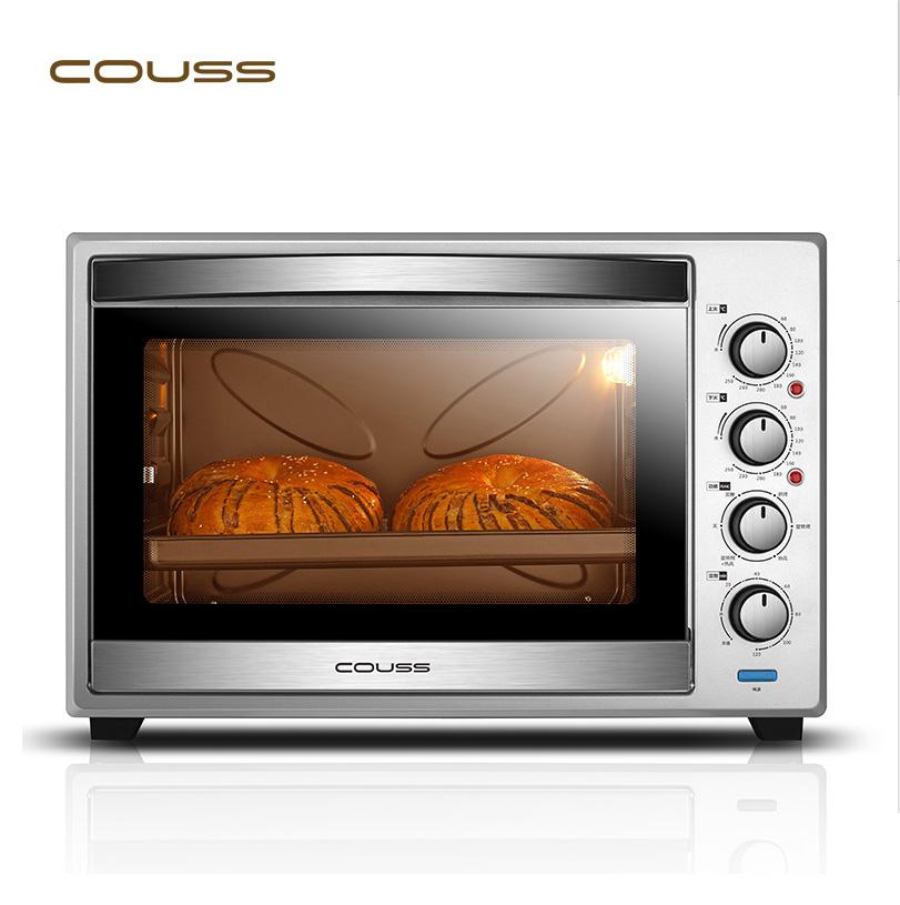 卡士Couss CO-6001 大容量电烤箱家用烘焙60L多功能蛋糕烤箱