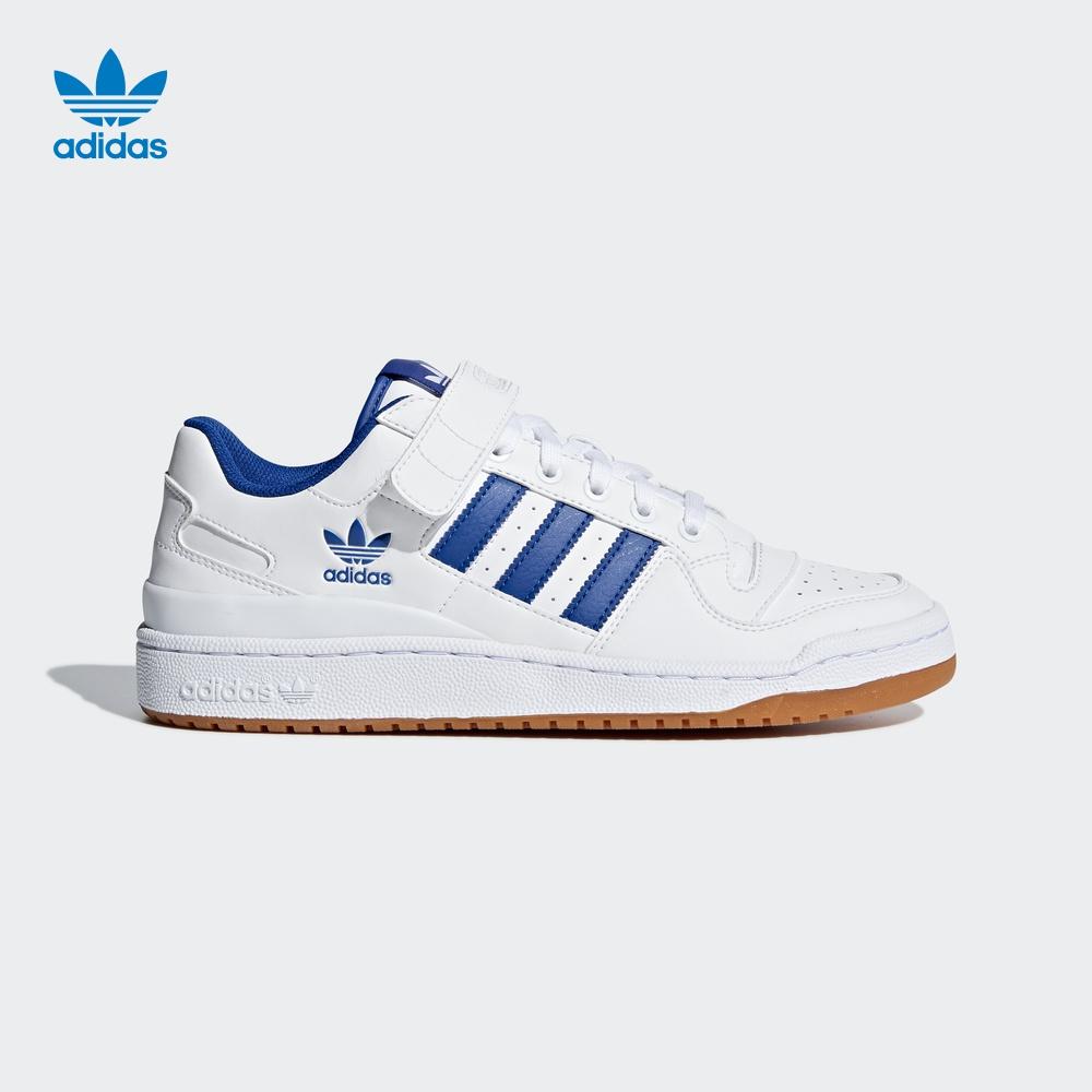 阿迪达斯 官方adidas 三叶草 FORUM LO 男子 经典鞋