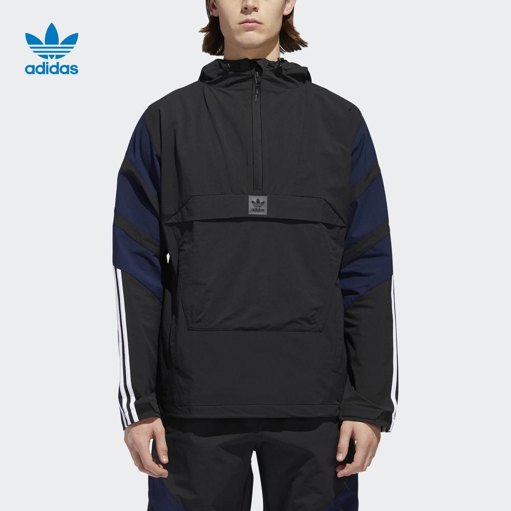 阿迪达斯官方adidas 三叶草 3STJACKET 男子 外套夹克 DH6649